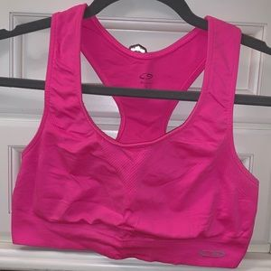 Neon Pink Champion Sports Bra
